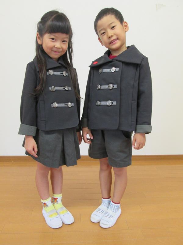 なぎさ幼稚園 冬服